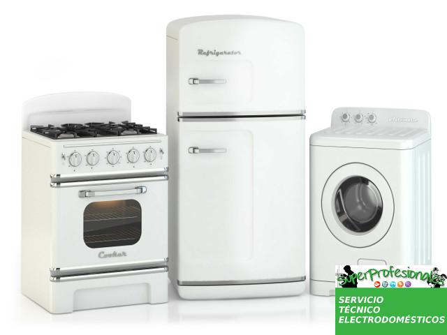reparación electrodomésticos Madrid